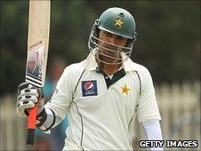 Pakistan batsman Salman Butt