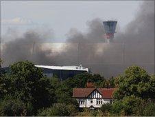 Heathrow fire