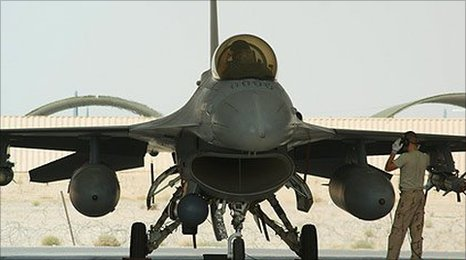 F-16 in Afghanistan; photo - Frank Gardner