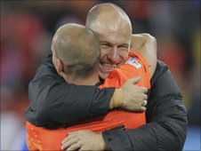 Sneijder and Robben