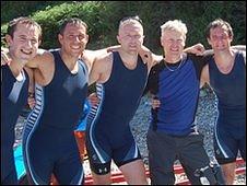 The crew of Guernsey's Geomarine