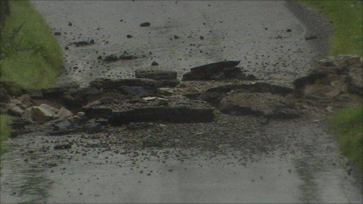 Bomb blast near Armagh