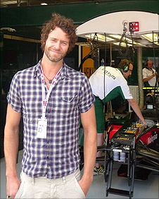 Take That's Howard Donald