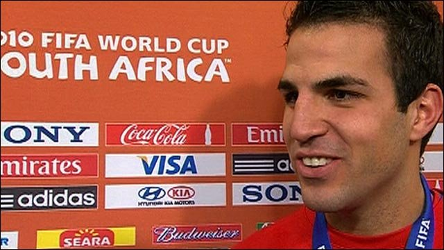 World Cup 2010: Cesc Fabregas proud of Spanish triumph
