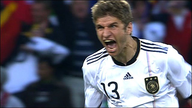 Germany's Thomas Mueller