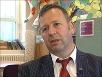 Daniel Weiner, Head teacher of Whitehawk  Primary School