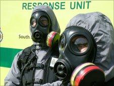 Hazardous area response equipment