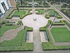 Courtyard, Saunderton, Bucks