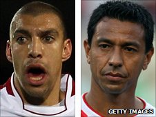 James Harper and Nolberto Solano