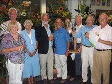 St Martin's Floral Guernsey team