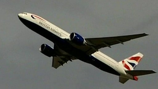 British Airways passenger plane