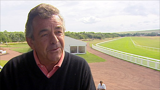 Golf legend Tony Jacklin