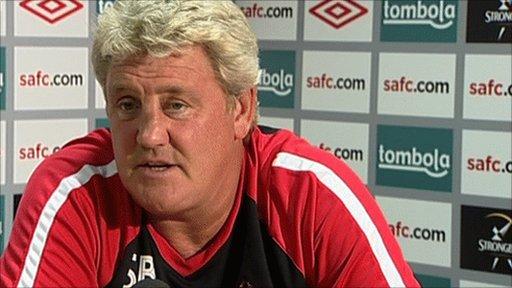 Sunderland Manager, Steve Bruce