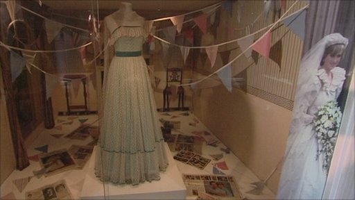 Princess Diana dresses at Bath's Fashion Museum