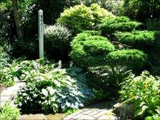 Japense garden in Meersbrook Park