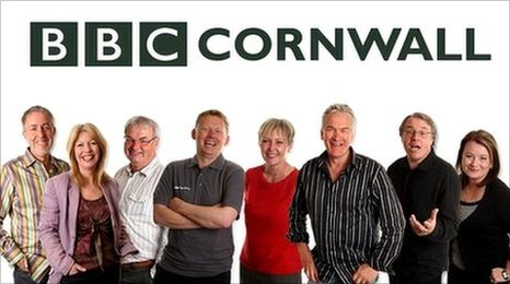 Some of the BBC Radio Cornwall team