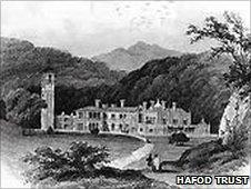 Hafod House. Copyright Hafod Trust