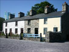 Fron Haul quarrymen's cottages