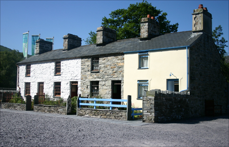 Quarrymen's cottages