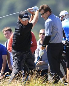Phil Mickelson, Sir Nick Faldo