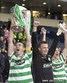 Stephen McManus and Artur Boruc