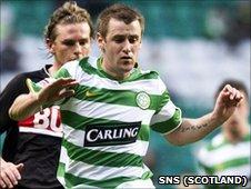 Celtic winger Niall McGinn
