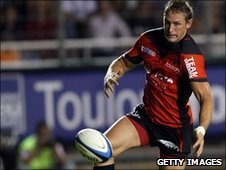 Jamie Robinson in action for Toulon last season