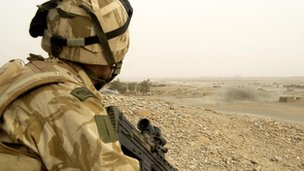 Royal Marine in Afghanistan