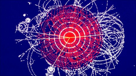 Simulation of Higgs boson detection (Cern)