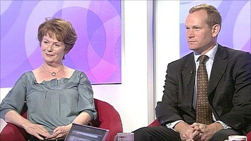 Hazel Blears and Jeremy Browne