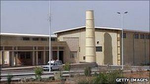 Natanz nuclear enrichment facility (2007)