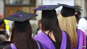 University graduates (file pic)
