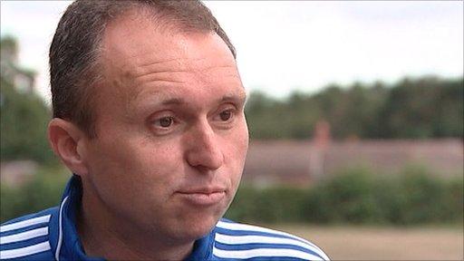 World Cup final assistant referee Darren Cann