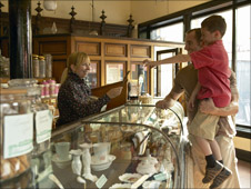 Blists Hill Victorian Town pharmacy (image: Ironbridge Gorge Museum Trust)