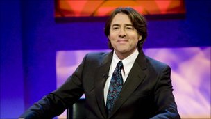 Ross presenting Friday Night With Jonathan Ross