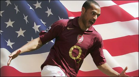 Thierry Henry has moved to play football in the MLS