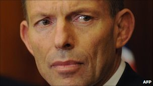 Tony Abbott, Australian opposition leader, 2 June 2010