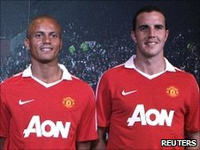 Wes Brown and John O'Shea