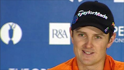 British golfer Justin Rose