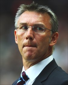 Scunthorpe United manager Nigel Adkins