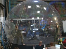 Medicine Shop's orb in rehearsals