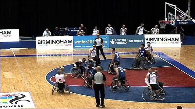 Highlights: GB wheelchair basketball teams out of worlds