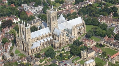 Lincoln Cathedral, picture by Barry Sheppard