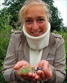 Flowers foraged by chef Nanna Vestergaard for Restaurant Sat Bains