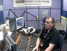 BBC Radio Lancashire studio webcam