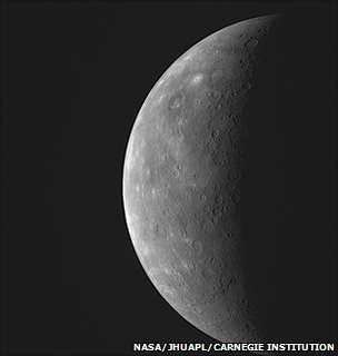 Image of Mercury captured by Nasa's Messenger spacecraft (Image: NASA/JHU Applied Physics Laboratory/Carnegie Institution)