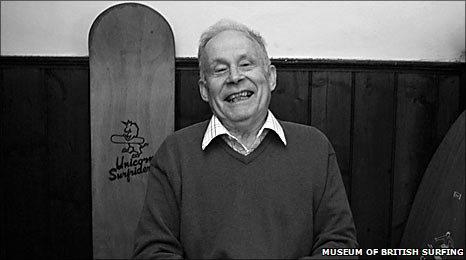 Dick Pearce: Museum of British Surfing