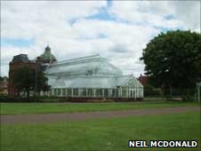 Glasgow Green, photo courtesy of Neil McDonald