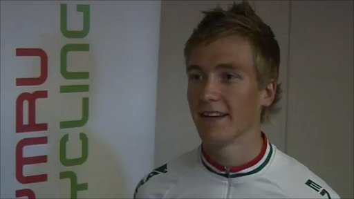 Wales cyclist Sam Harrison