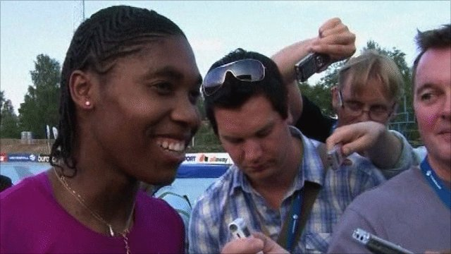 South African Caster Semenya